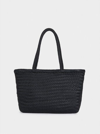 Hand Made Braided Tote Bag